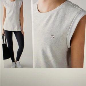 Lulu Lemon Muscle Sweatshirt Material